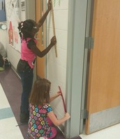 Ms. Lynn's class measuring anything and everything!