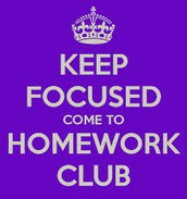 Homework Club is in Session