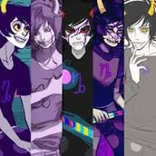 Many faces of Gamzee Makara...