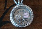My daughter received a Mama locket at her baby shower