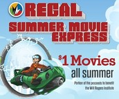 Summer Movie Express @ Regal Theater