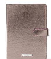 Chelsea Mini iPad Case - Pewter Metallic