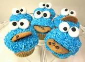 Cookie Monster, yum yum yum