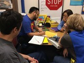 Grade level PLC going strong in 2nd grade!
