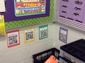 QR codes for Math in 1st Grade