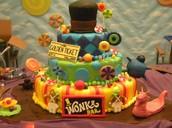 Wonka cake.