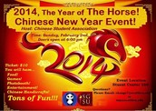 Chinese New Year Celebration 2014