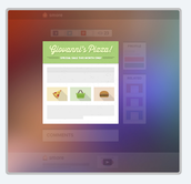 4. Preview your flyer with or without selected elements