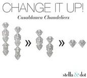 Casablanca Chandeliers, was $64, now $25,  3 in 1!!