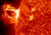 What is a prominence?