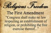 Amendment I Freedom of Speech, Press, and Religion