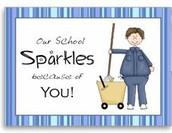 We LOVE our custodians!