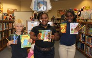 """Winners of the """"It's O""""fish""""al! Books Are Awesome!"""" estimation contest!"""