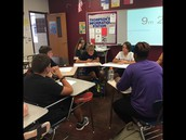 Socratic Seminar in 7th Period