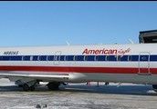 This is American Eagle Jet,this is what u would ride on to get to California.