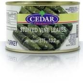 Cedar Stuffed Vine Leaves 375g 2.49!