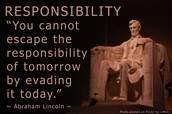 Definition of Responsibility: