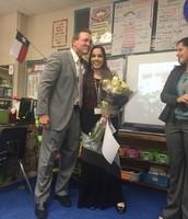 Congrats! Ms. Jones!