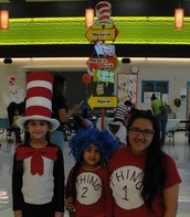 The Cat in the Hat, Thing 1 & Thing 2