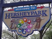 Entrance to Hershey Park