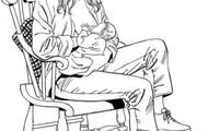 Postura sentada - Posición estirado