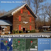 Kymulga Grist Mill and Covered Bridge