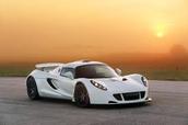 Aspen White Hennessey Venom GT