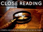 More on Close Reading (what is and what is not)