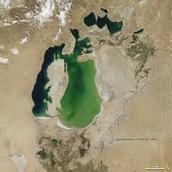 Het Aralmeer in 2000