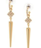 SOLD Bianca Earrings - Gold (2 in 1)