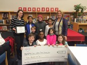 We Were Awarded $3000 From WakeEd Partnership
