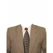 Traje, camisa y corbata para hombre...