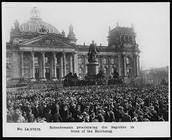 November 9, 1918 - Germany became a republic