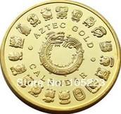 Aztec Golden Coin Calender!