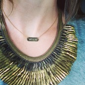 The Pegasus is a must if you love a statement necklace!