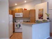 We Feature Spacious Kitchens With Bar ...