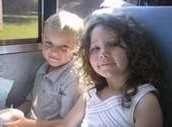 Me and my brother when we were really little