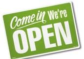 Open 6 Days A Week!*