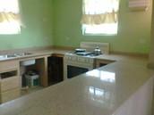 Kitchen Countertop using Quartz Engineered Stone