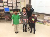 Ms. Aaron and students