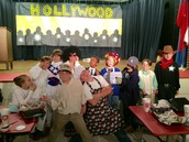 More cast  gather to show off for the camera