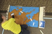 Labeling land and water forms