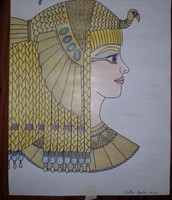 Tekening Cleopatra