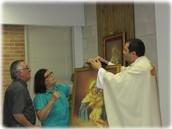 Welcome back Fr. Patricio!