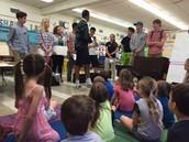 High School Seniors teaching us about Sonnets!