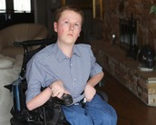 Teen with Muscular Dystrophy