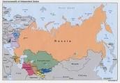 Russia's location