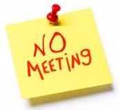 September 31 - No Team Meeting