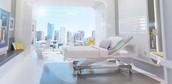 rich hospital room
