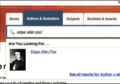 Initial Poe search as author